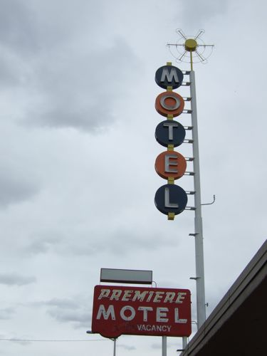 There were lots of cool motel signs along Central Avenue, Old Rte. 66.